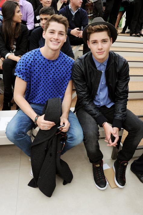 Jack and Finn Harries?