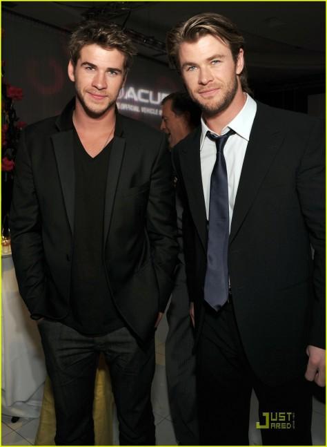 Liam and Chris Hemsworth?