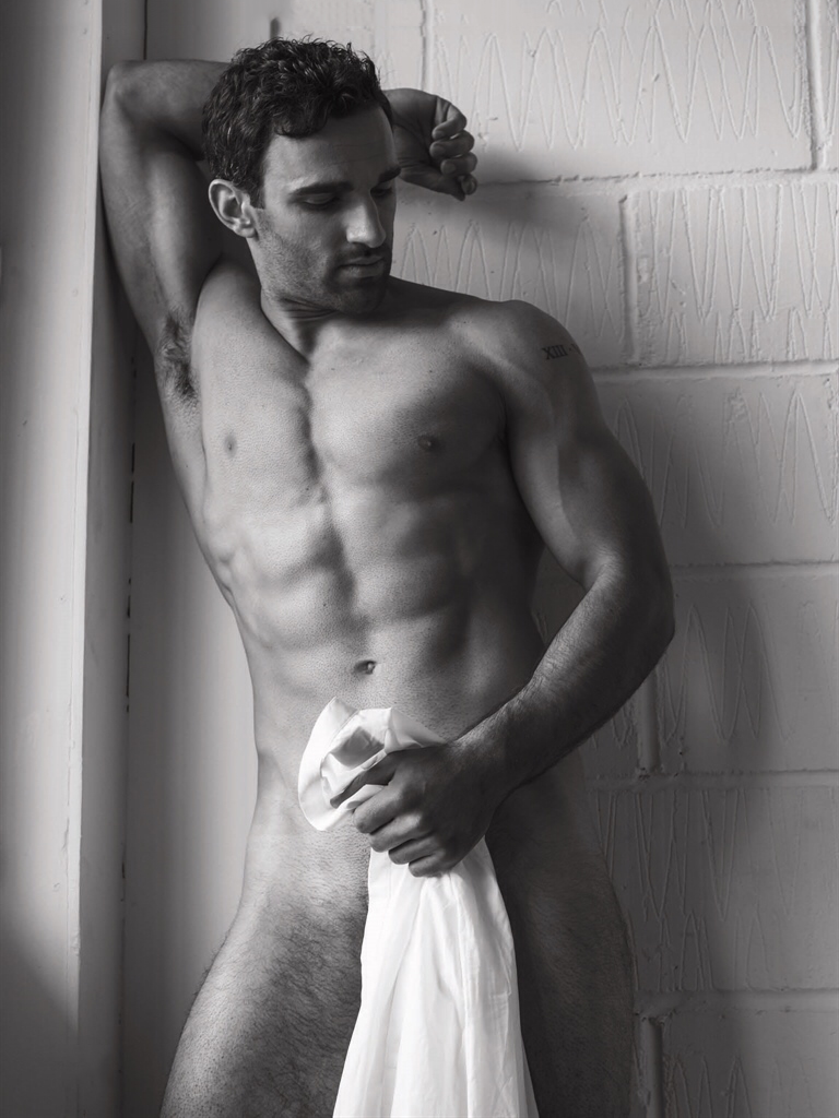 Davood Ghadami  Attitude Naked Issue  Buff Male Celebs-3295