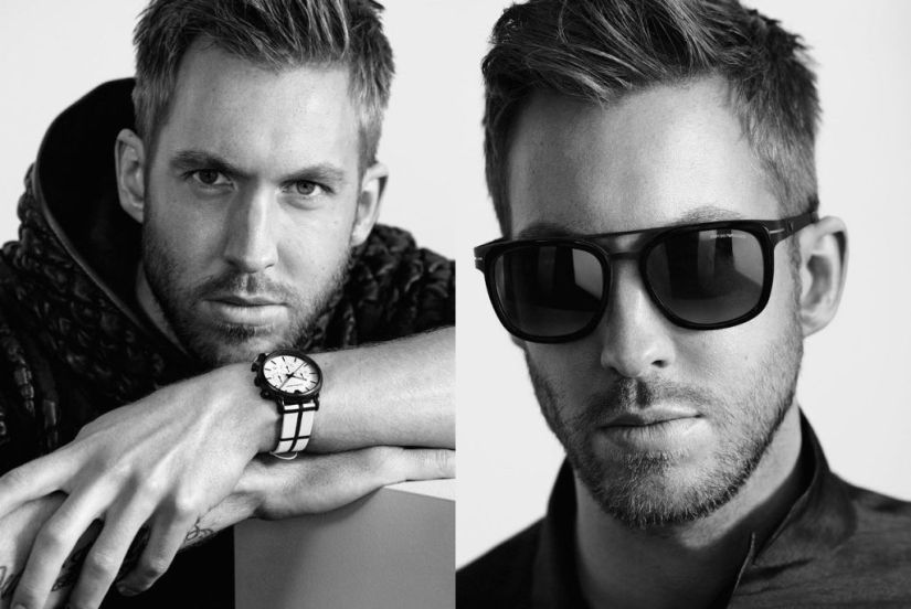 Calvin Harris – Armani Photoshoot