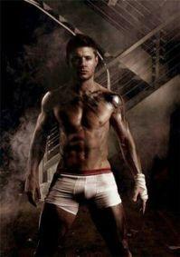 Jensen Ackles underwear model supernatural