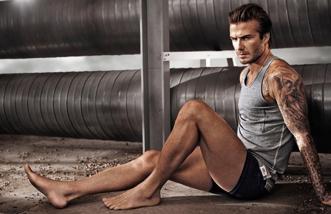 David Beckham – H&M Shoot