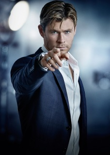 Australian actor Chris Hemsworth has been tapped as the latest brand ambassador for TAG Heuer, a Carrera Heuer 01 on his wrist- he is the perfect embodiment of the motto