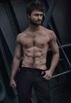 daniel radcliffe shirtless