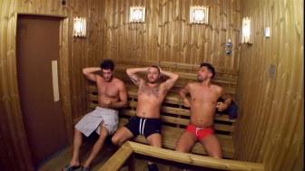 Jonny, Daniel and Andrew.